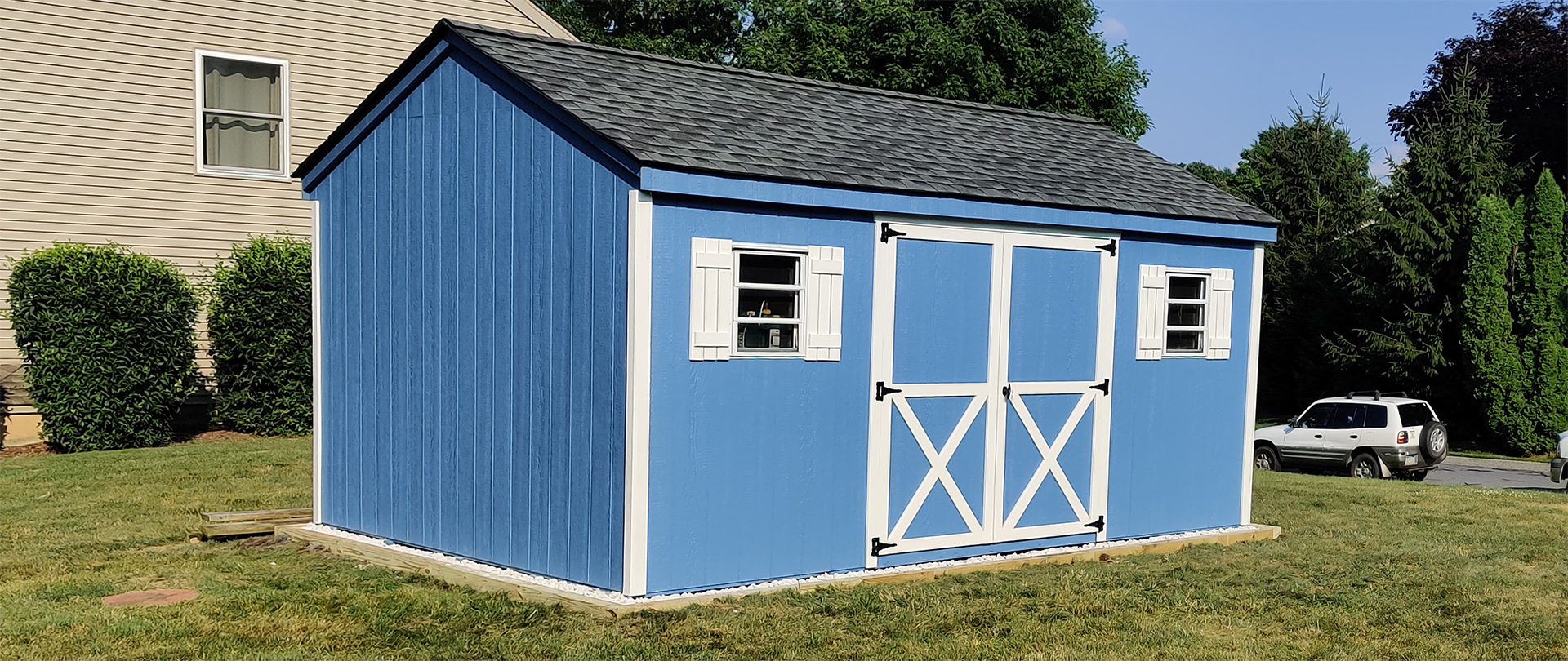 Shed Siding Repaired