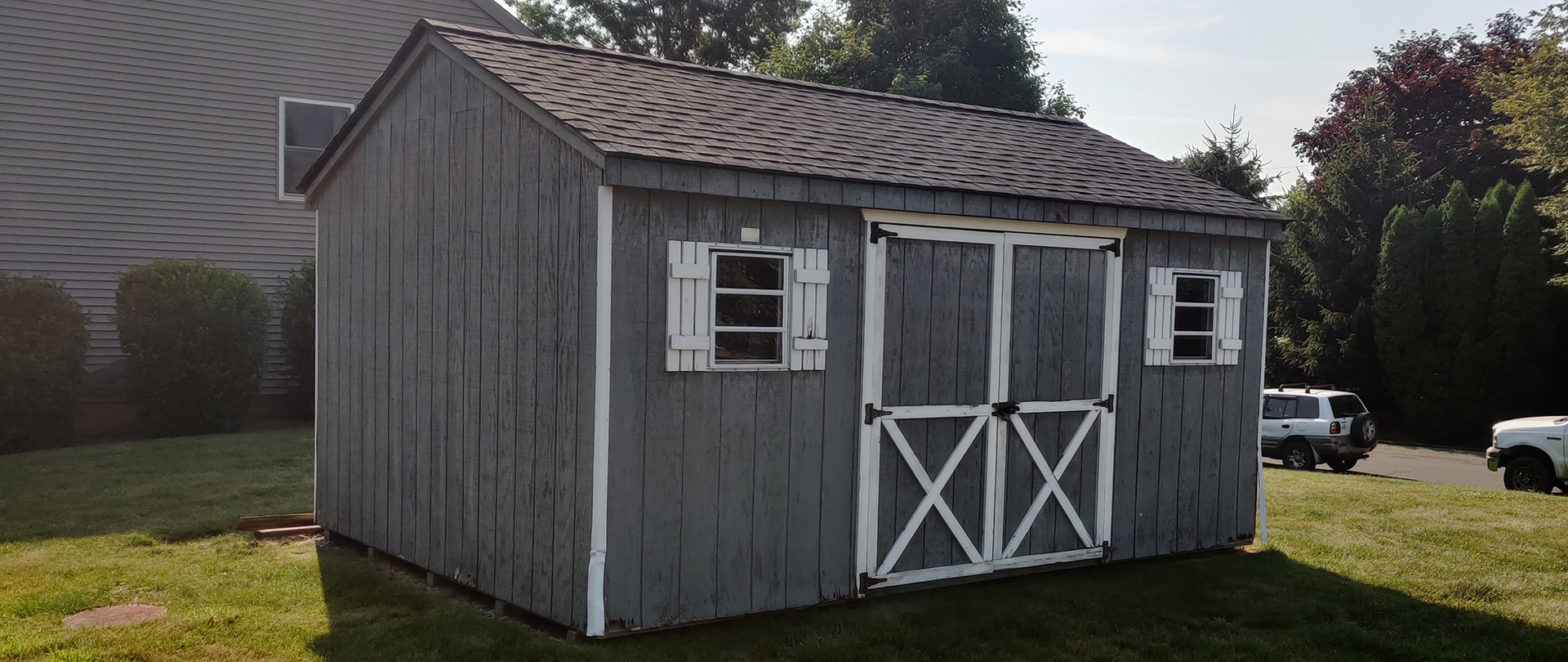 Siding Repaired