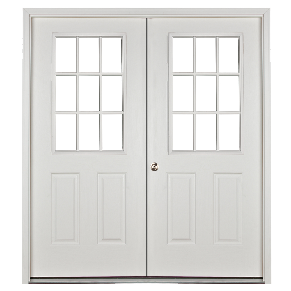 Prehung Steel Replacement Doors