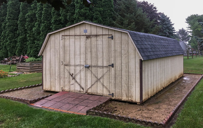 Shed Siding Repair Services