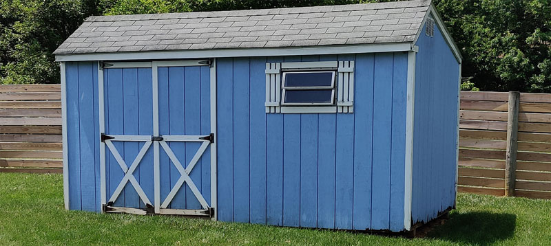 Shed Siding Replacement