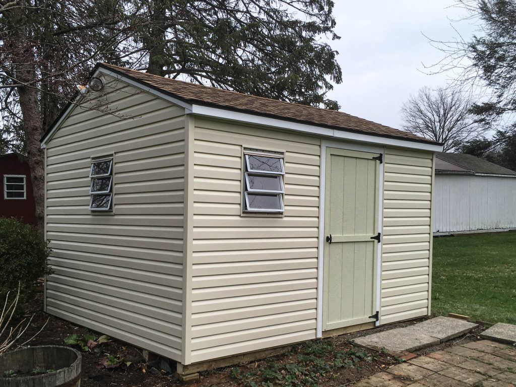 Vinyl Siding Shed Repair