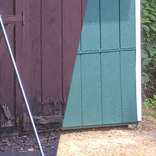 Wooden Shed Siding Repair Pa