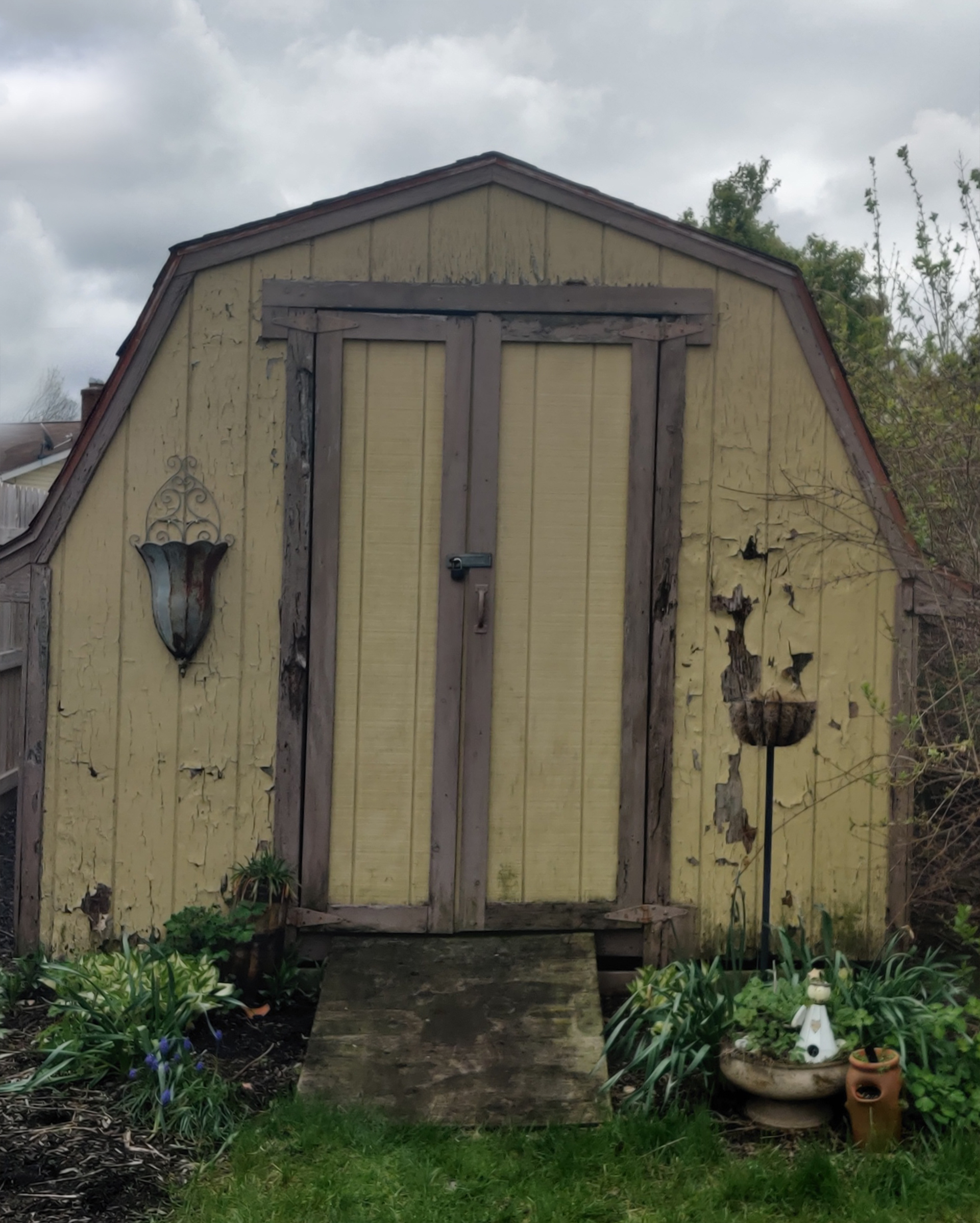 Completed Shed Repair