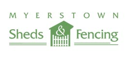 Myerstown Sheds Fencing Logo